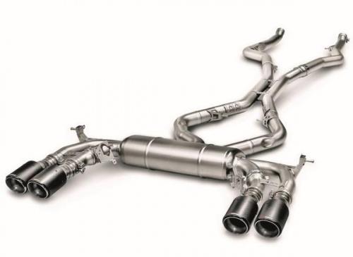 Выхлопная система Akrapovic Evolution для BMW X5M F85/X6M F86