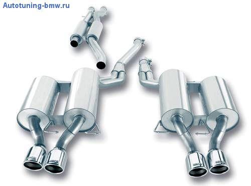 Выхлопная система Borla для BMW M5 E60