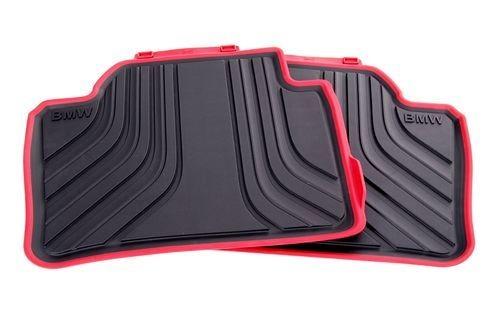 Задние ножные коврики для BMW F20 1-серия (Sport Line)