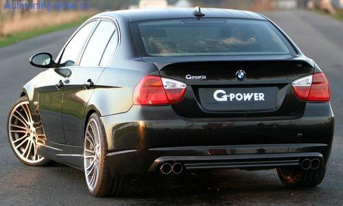 Задний бампер G-POWER для BMW E90 3-серия