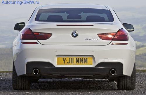 Задний бампер M-Sport для BMW F13 6-серия