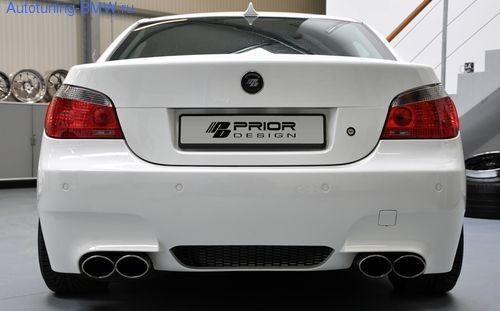 Задний бампер PRIOR DESIGN для BMW E60 5-серия