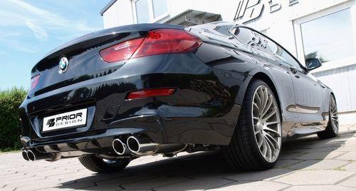 Задний бампер Prior Design для BMW F06/F13 6-серия