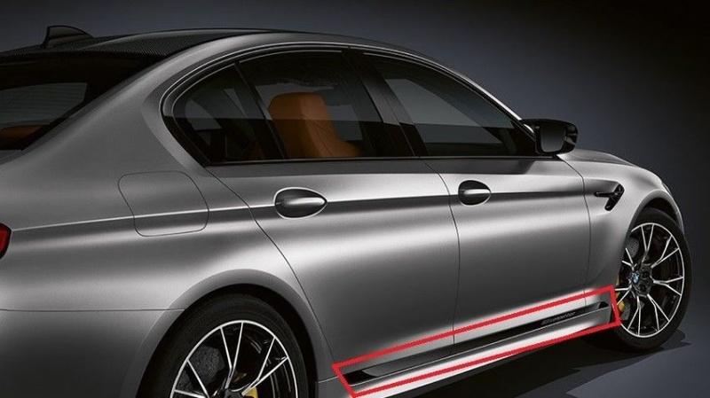 Акцентная пленка M Performance для BMW M5 F90 Competition