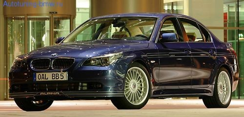 Акцентная полоса ALPINA для BMW E60 5-серия