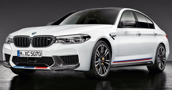 Акцентные полосы M Performance для BMW M5 F90