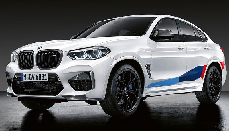 Акцентная пленка M Performance для BMW X3M F97/X4M F98