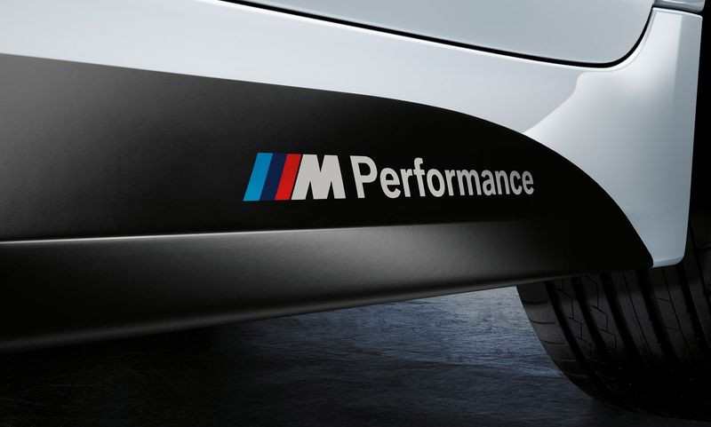 Декоративная пленка M Performance для BMW F32 4-серия