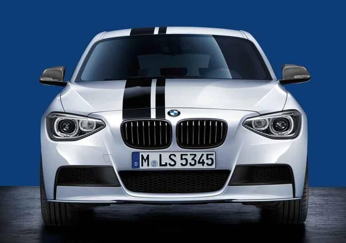 Дооснащение M Performance переднего бампера BMW F20 1-серия