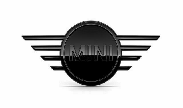 Эмблема MINI черного цвета, задняя