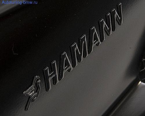 Эмблема на крышку багажника Hamann