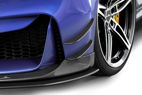 Карбоновые элероны переднего бампера для BMW M3 F80/M4 F82