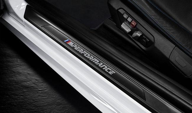 Карбоновые накладки на пороги для BMW F22/M2 F87