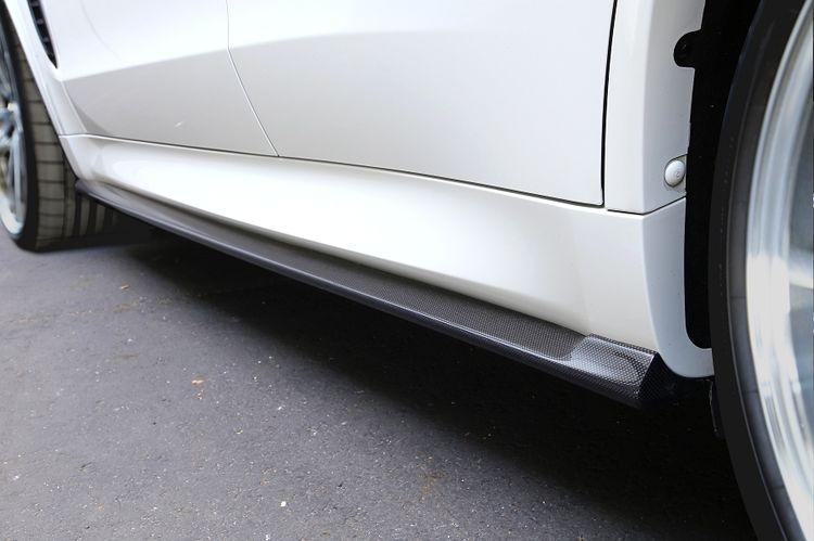 Карбоновые накладки на пороги для BMW X5 F15
