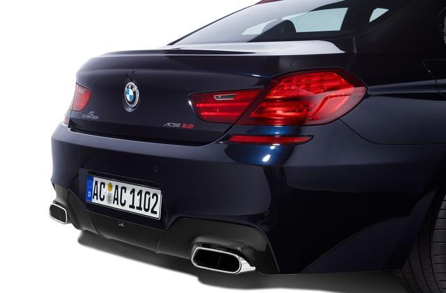 Карбоновый диффузор заднего бампера AC Schnitzer для BMW M6 F06 Gran Coupe