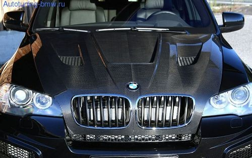 Карбоновый капот BMW X5 E70