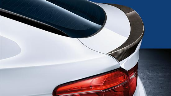 Карбоновый спойлер M Performance для BMW X6 F16