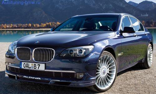 Комплект акцентных полос ALPINA для BMW F01 7-серия