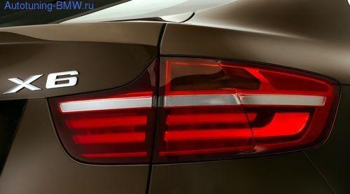 Комплект дооснощения задними фонарями Facelift BMW X6 E71