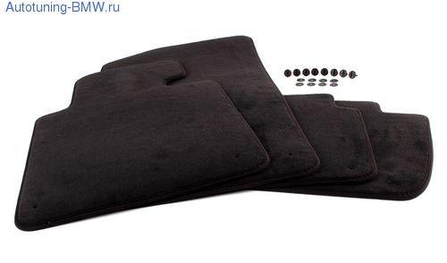Комплект салонных велюровых ковриков для BMW F01 7-серия