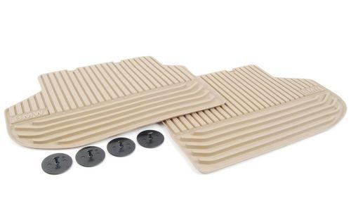Резиновые ножные коврики для BMW F10 5-серия, задние