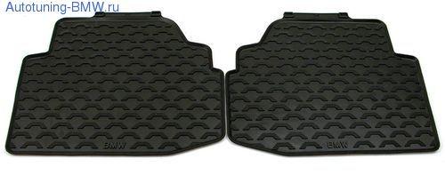 Комплект задних ножных ковриков для BMW E90 3-серия