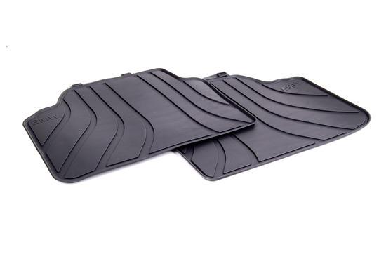 Резиновые ножные коврики для BMW E90 3-серия, задние