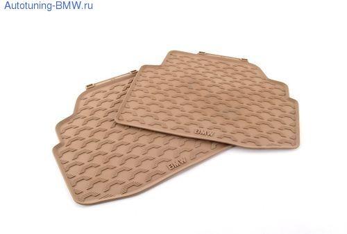 Комплект задних ножных ковриков для BMW F01 7-серии