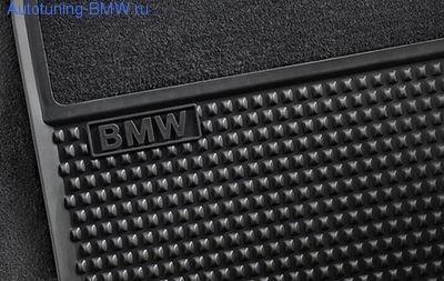 Комплект задних салонных ковриков для BMW GT F07 5-серия
