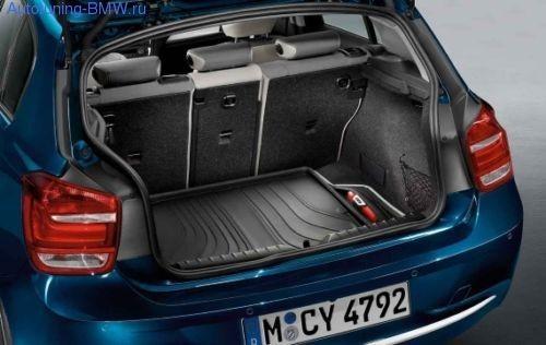 Коврик багажного отделения для BMW F20 1-серия (Modern Line)