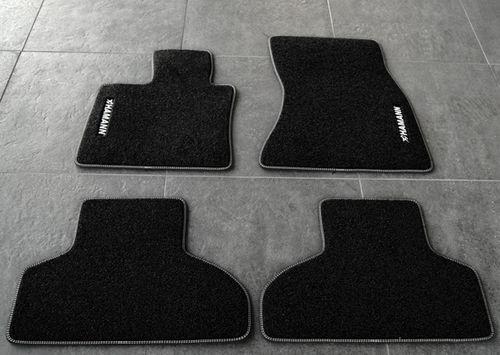 Велюровые коврики Hamann для BMW X5 F15/X6 F16