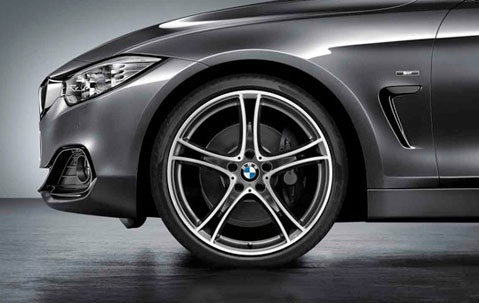 Литые диски Double-Spoke 361 Ferricgrey для BMW F22 2-серии
