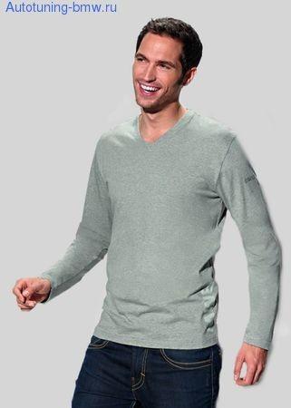 Мужская футболка BMW с длинным рукавом