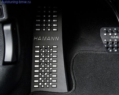 Накладка под ногу Hamann для BMW F10 5-серия
