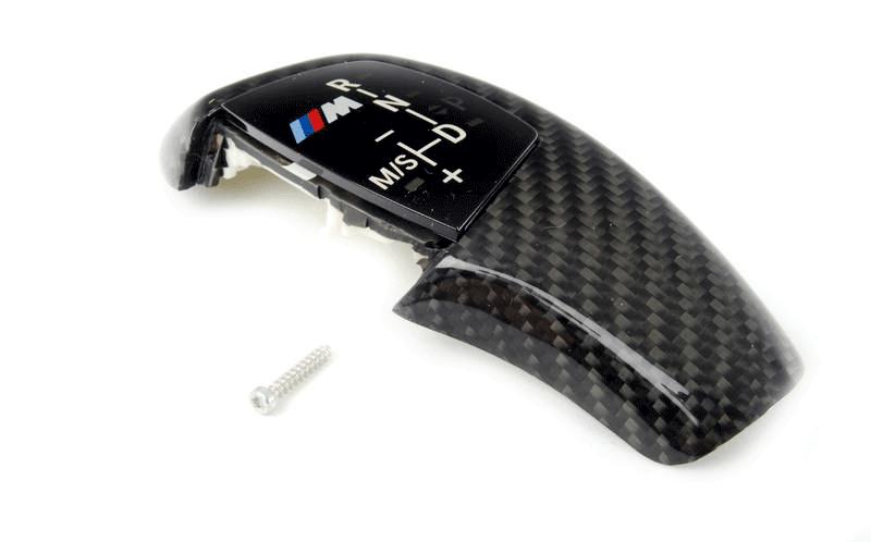Карбоновая накладка рукоятки селектора АКПП