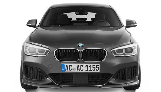 Накладки переднего бампера для BMW F20 LCI 1-серия