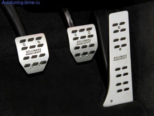 Накладки на педали Kelleners для BMW (МКПП)