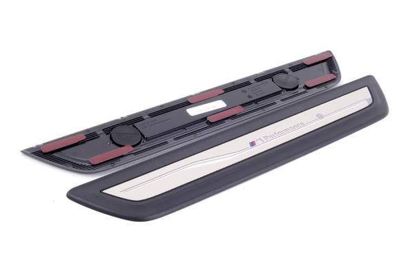 Накладки на пороги M Performance для BMW X3 F25
