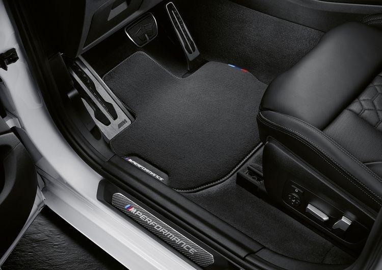 Накладки на пороги M Performance для BMW X3 G01/X4 G02