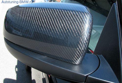Накладки на зеркала для BMW X5 E70/X6 E71