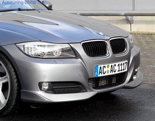 Накладки переднего бампера для BMW E90 3-серия