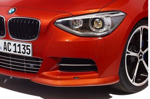 Накладки переднего бампера для BMW F20 1-серия