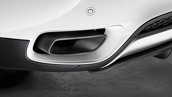 Насадки глушителя M Performance для BMW X5 E70