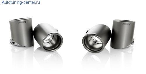 Титановые насадки глушителя Akrapovic