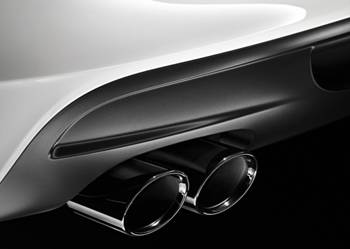 Оригинальные насадки глушителя для BMW F10 5-серия