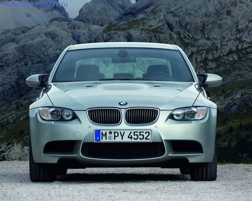 Оригинальный передний бампер М-стиль BMW E90/E92 М3 3-серия