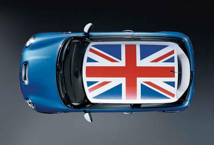 Отделка крыши Union Jack для MINI F56