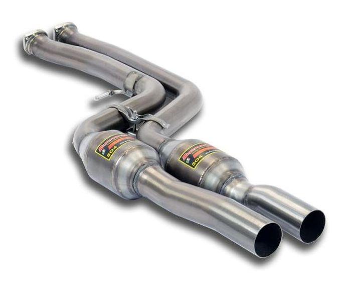 Передние глушители с катализаторами для BMW M2 F87 Competition