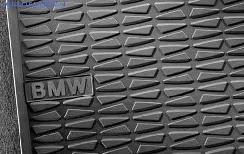 Резиновые коврики для BMW E81/E82/E87/E88 1-серия, передние