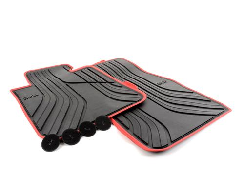 Резиновые коврики Sport Line для BMW F20 1-серия, передние